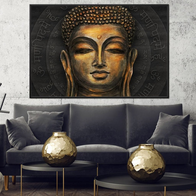Traditional Buddha Multi Panel Canvas Wall Art - NicheCanvas