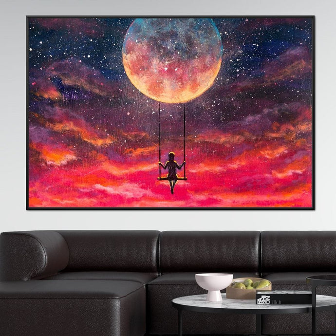 Moon Swing - NicheCanvas