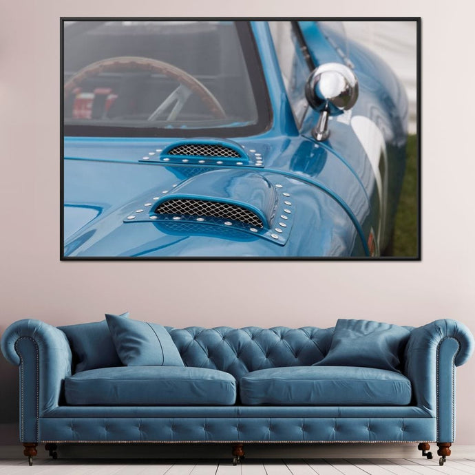 Classic Supercar Multi Panel Canvas Wall Art - NicheCanvas