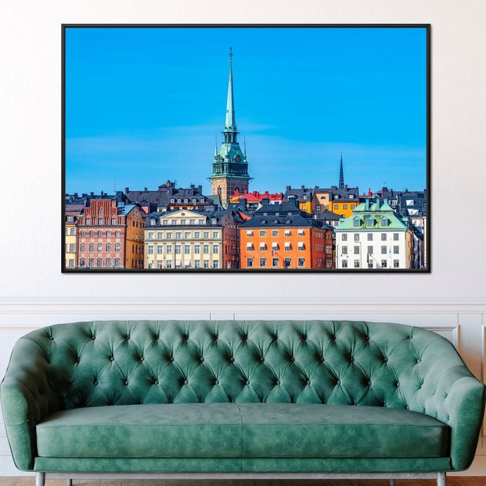 Stockholm Multi Panel Canvas Wall Art - NicheCanvas