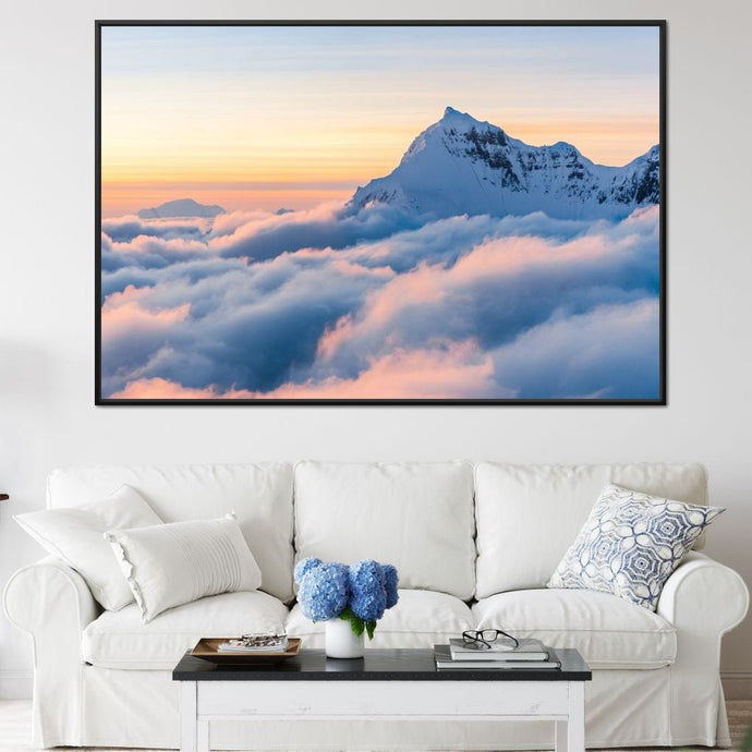Above the Clouds - Lucas Moore Huge Floating Frame