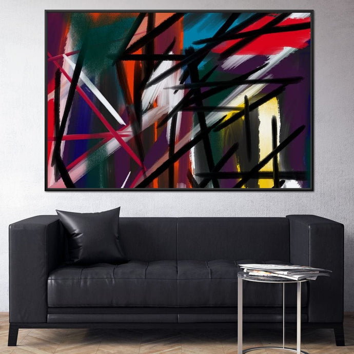 Abstract Cityscape 5 - Andy Brackpool - NicheCanvas