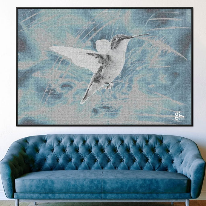 Hummingbird - G'n Art - NicheCanvas