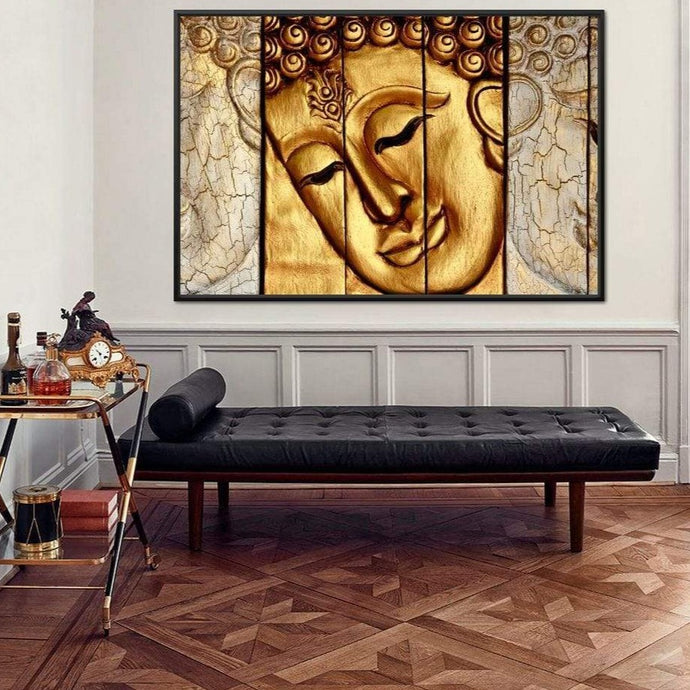 Lord Buddha Huge Floating Frame