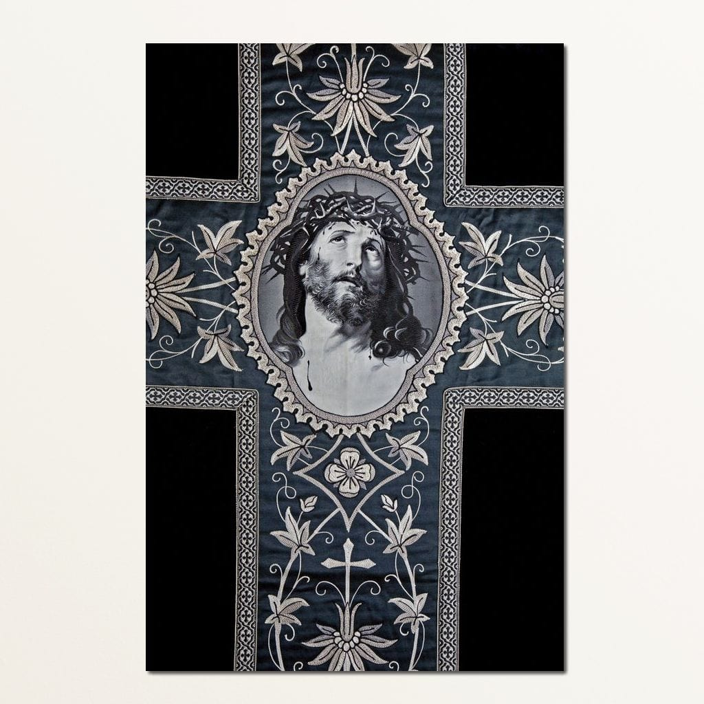 Jesus Christ Cross Multi Panel Canvas Wall Art - NicheCanvas