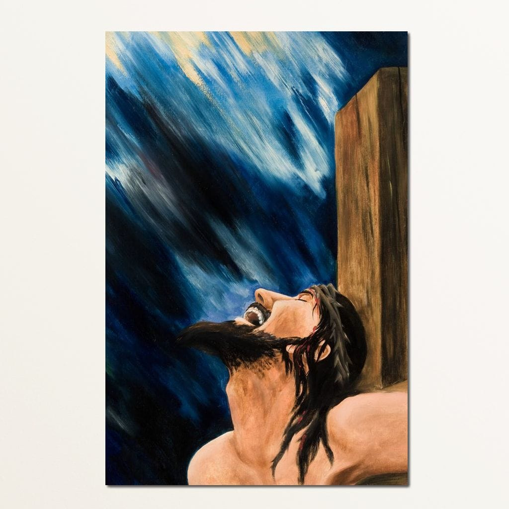 The Crucifixion of Christ Multi Panel Canvas Wall Art - NicheCanvas