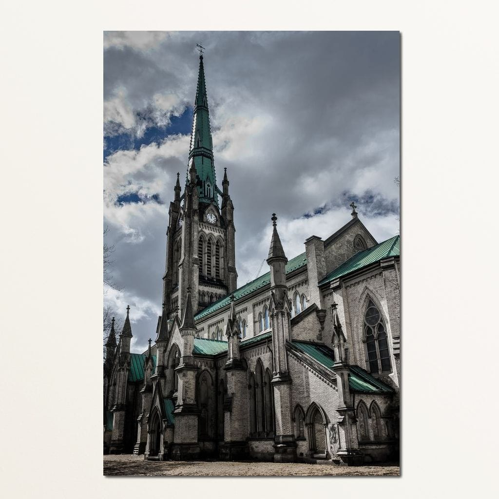 The Cathedral Church of St. James - Brian Carson Multi Panel Canvas Wall Art - NicheCanvas