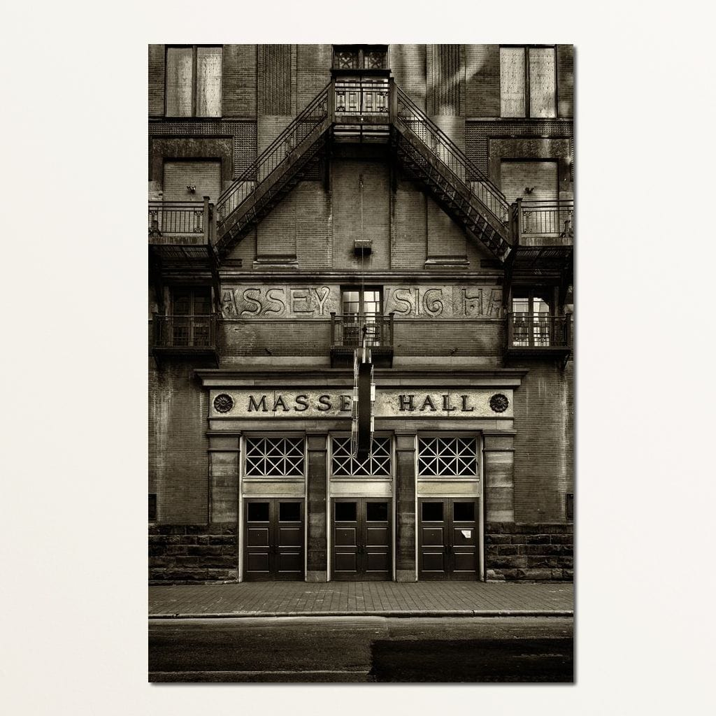 Massey Hall - Brian Carson Multi Panel Canvas Wall Art - NicheCanvas