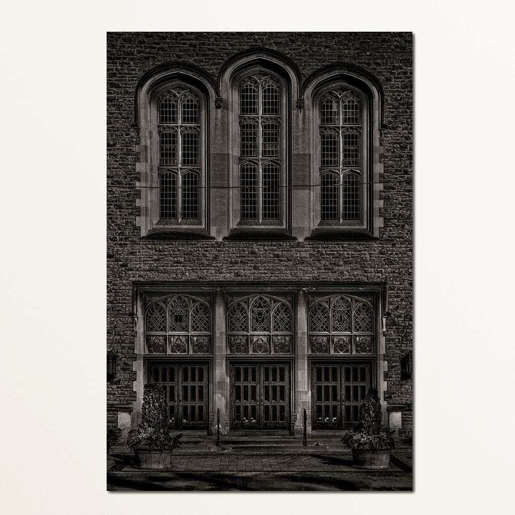Yorkminster Park Baptist Church - Brian Carson Multi Panel Canvas Wall Art - NicheCanvas