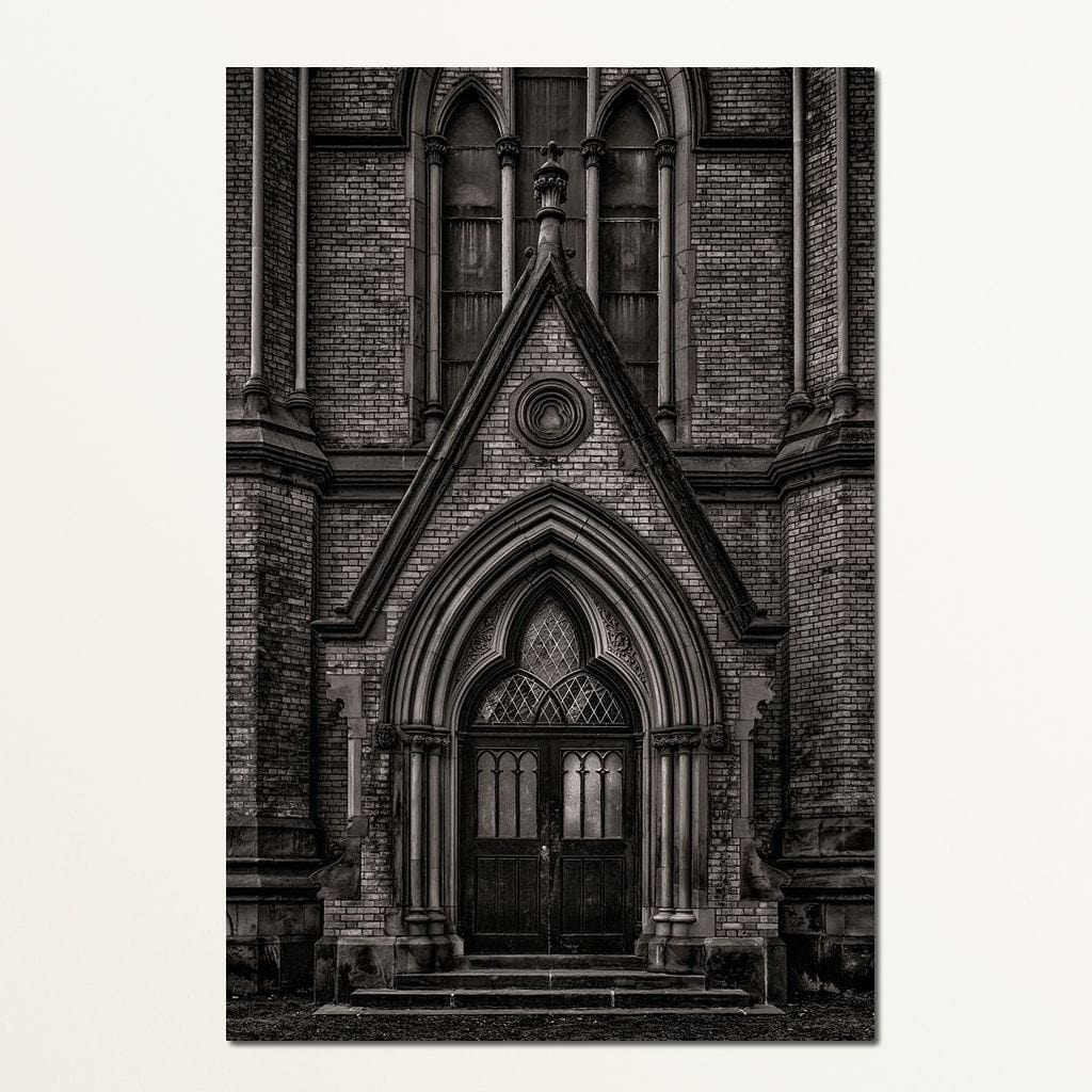 Metropolitan United Church - Brian Carson Multi Panel Canvas Wall Art - NicheCanvas