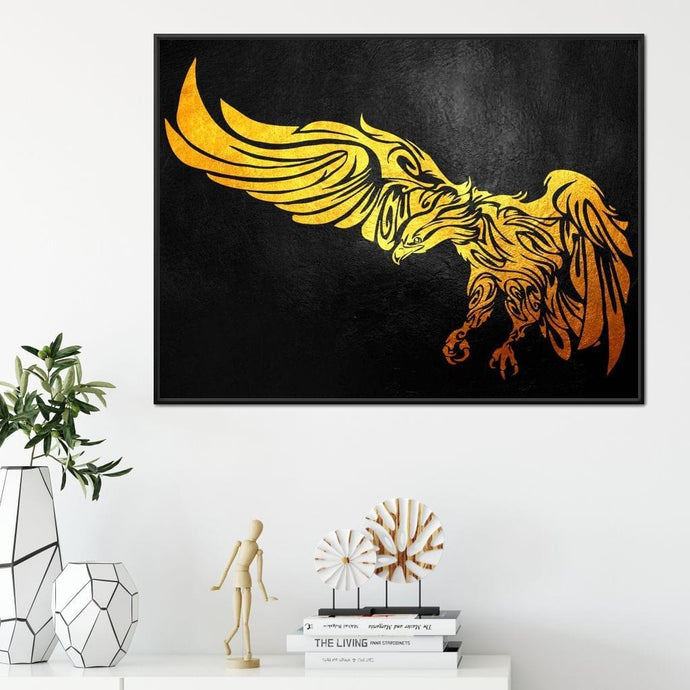 Gold Eagle - ABConcepts - NicheCanvas
