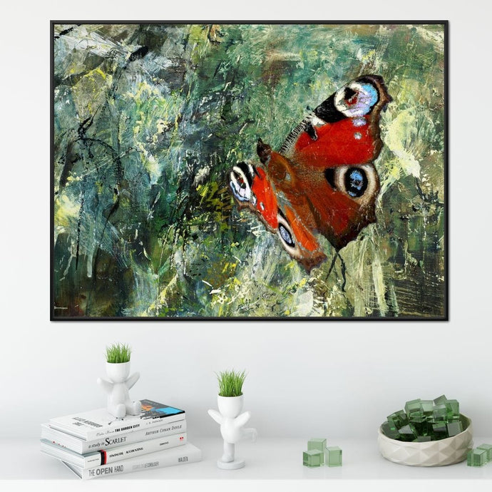 Butterfly in Flight Medium Floating Frame