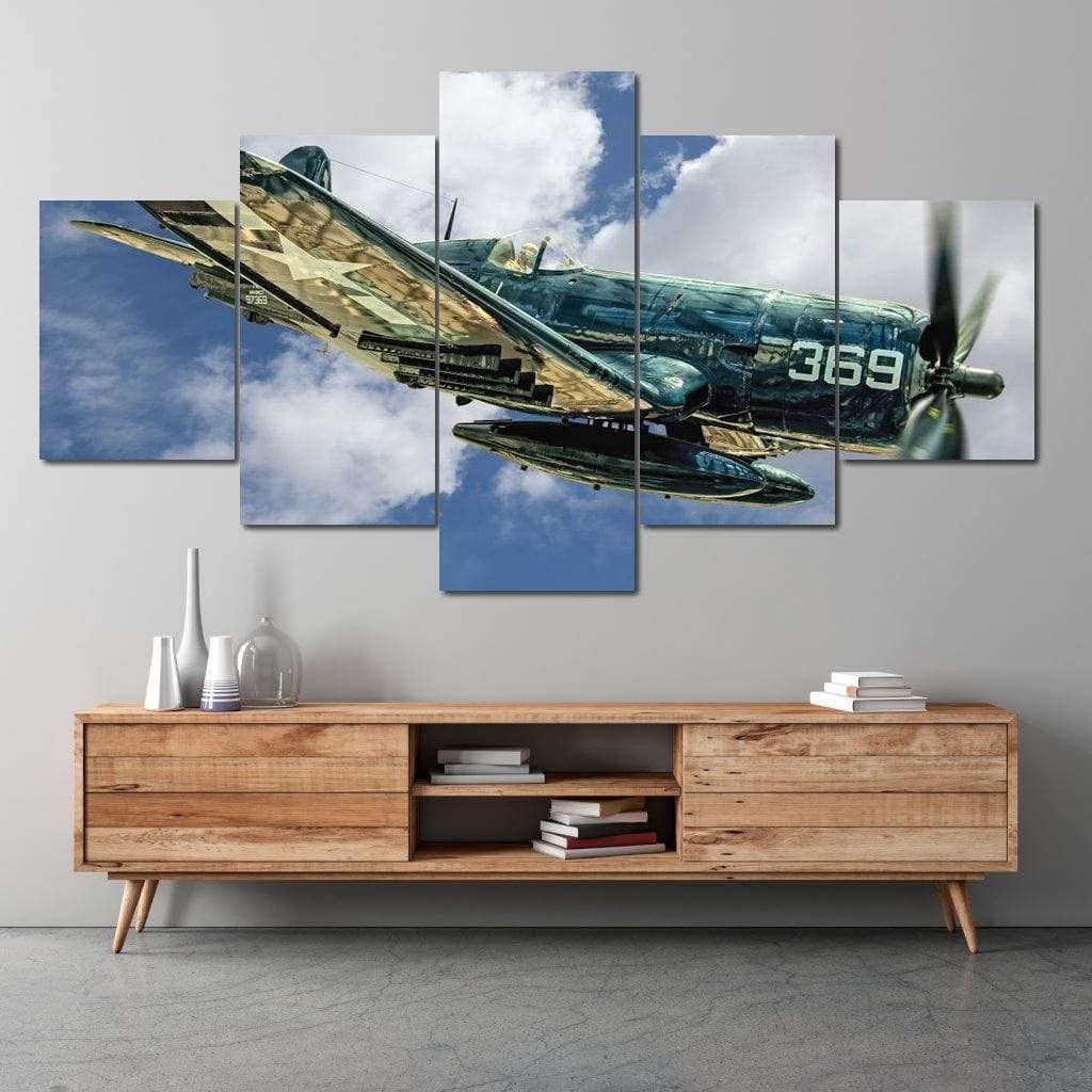 Vintage Airplane - NicheCanvas