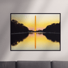 Load image into Gallery viewer, Washington Monolith Multi Panel Canvas Wall Art - NicheCanvas