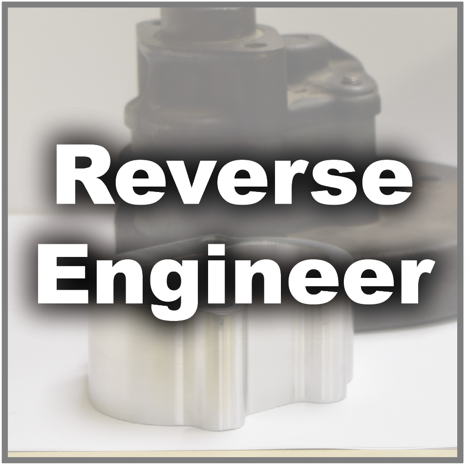 Reverse Engineer CNC Machine Shop Taking