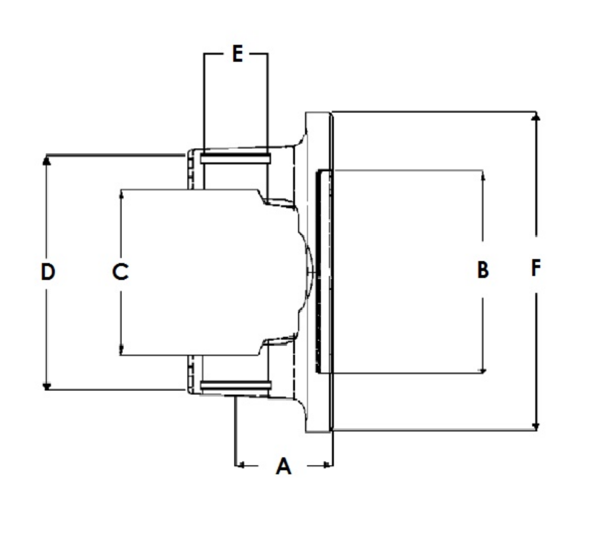 AAM Flange Diagram