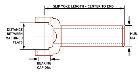 inside snap ring slip yoke