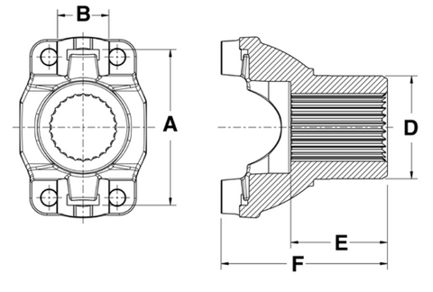 Bearing Strap Construction Diagram