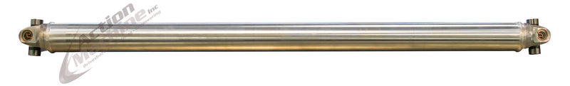 "Custom Driveshaft - Aluminum, 3"" OD, 7260 Series"