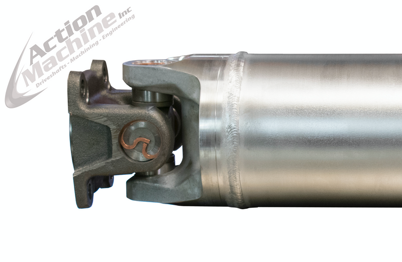 "Custom Driveshaft - Aluminum, 5"" OD, 1555 Series (Dodge 2500/3500 Truck) 4WD"