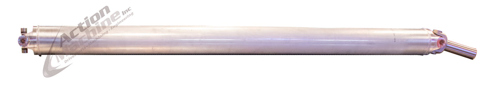 "Custom Driveshaft - Aluminum, 5"" OD, 1410 Series (Chevy/GMC Crew Cab Long Bed) 4WD"
