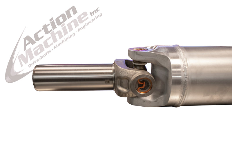 "Custom Driveshaft - Aluminum, 5"" OD, 1410 Series (Chevy/GMC, Duramax Diesel, Crew Cab, Short Bed) 4WD"