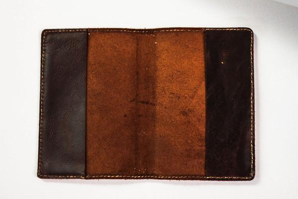 Mission Lazarus Leather Journal Cover