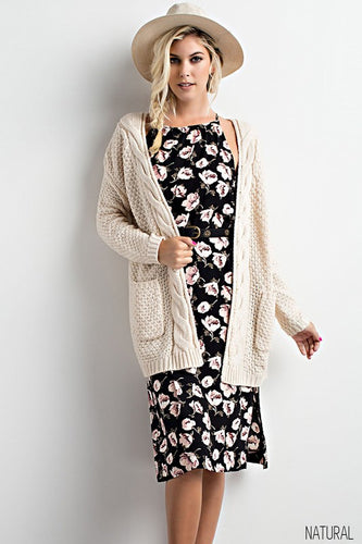 Shawn Natural Cardi
