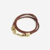 Honeycomb Bracelet in Brown