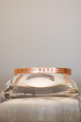Branded Collective Tiny Copper Cuff