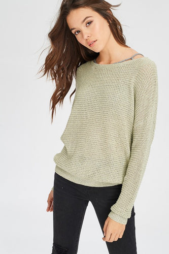 Salena Mint Sweater