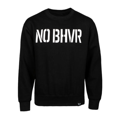 NO BHVR Large Print Crew Neck