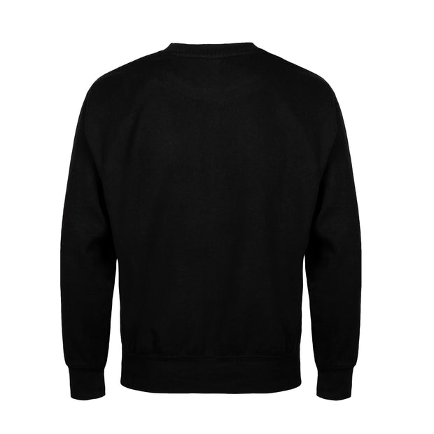 NO BHVR Large Embroidered Crew Neck