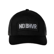 NO BHVR Badged Dirty Mesh Trucker