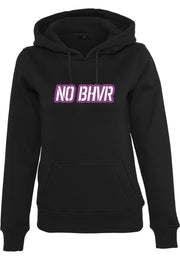 NO BHVR Coloured Bubble Logo Ladies Hoodie