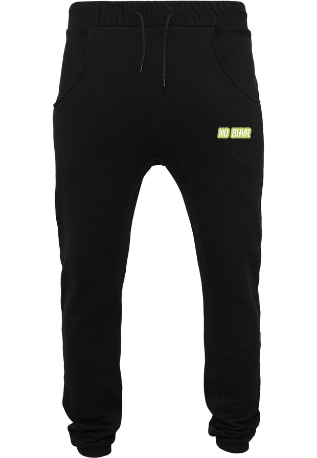 NO BHVR Coloured Bubble Logo Mens Sweat Pants (Black)