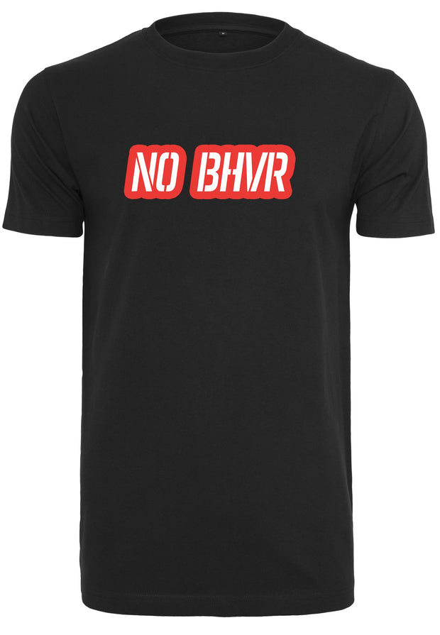 NO BHVR Coloured Bubble Logo Mens Tee (Black)