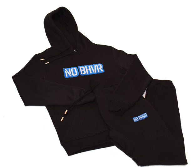 NO BHVR Coloured Bubble Logo Mens Track Suit (Black)