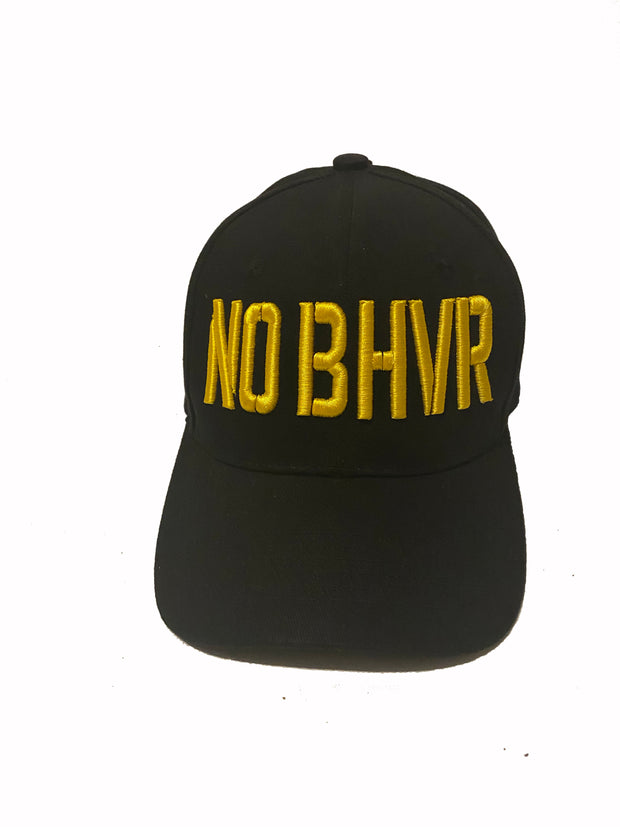 NO BHVR  3D Camden Curved Peak (Yellow)