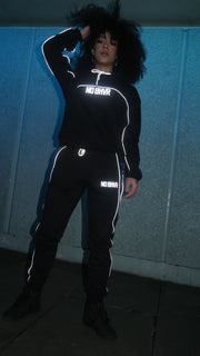 NO BHVR Reflective Women's Trackie