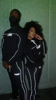 NO BHVR Reflective Mens Trackie