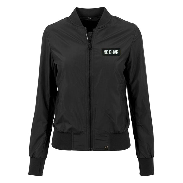 NO BHVR Badged Nylon Jacket (Womens)