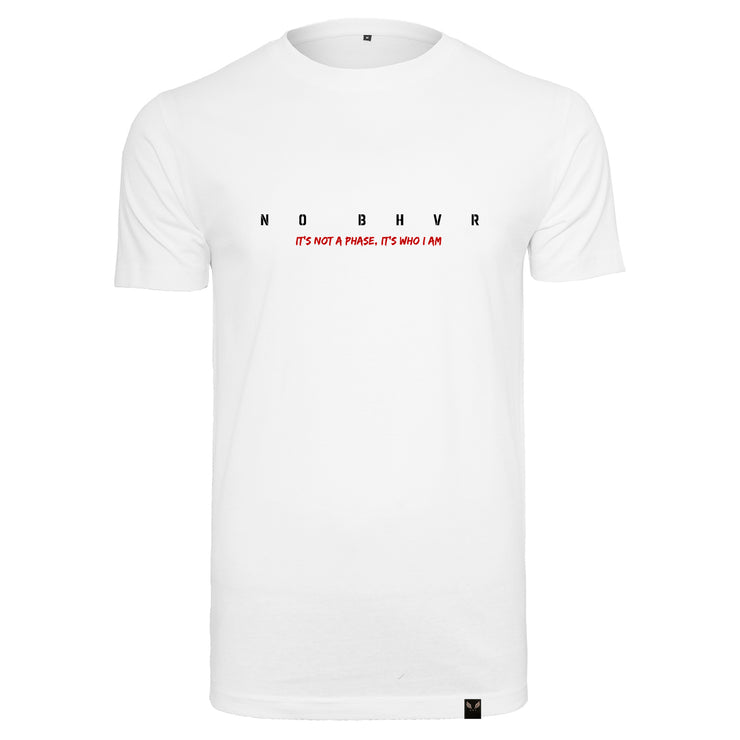 NO BHVR 'It's not a Phase' Tee (White)