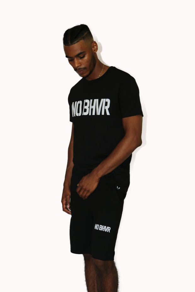 NO BHVR Terry Shorts (Black)