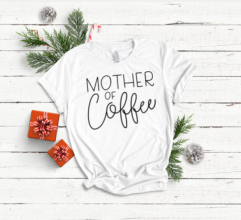 PRE-OREDER // Mother of Coffee Tee