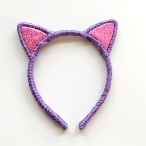 Bubble Pop Electric Collection // Purple + Sparkly Pink Kitty