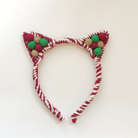 Classic Christmas // Candy Cane Pom Mix