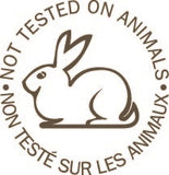 Non tested in animal, certified organic cosmetics