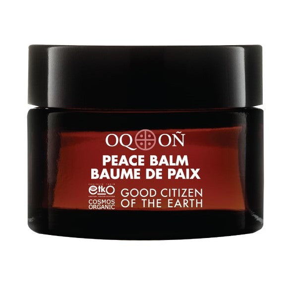 Certified Organic OQON Peace Balm sold by orbeau