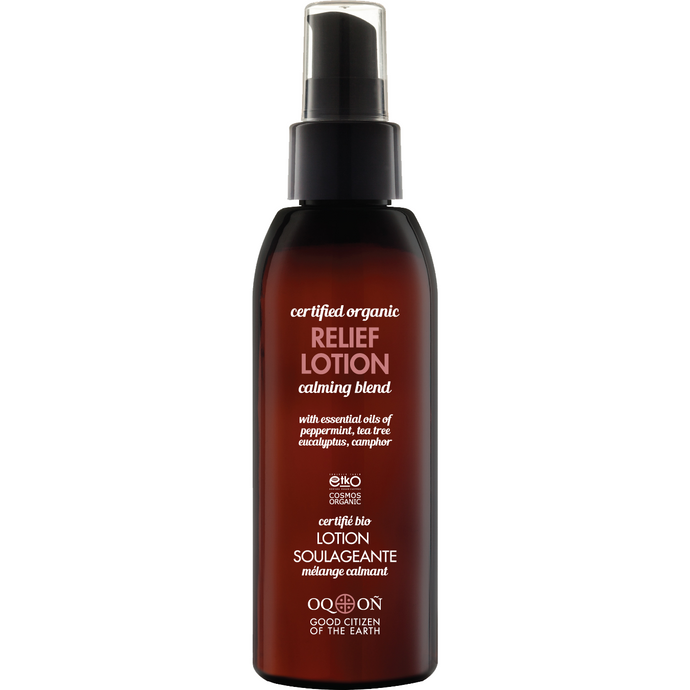 Certified Organic  Relief Lotion